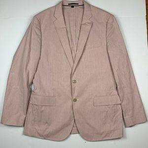 J Crew Pantsuit Ludlow Slim Pink Blazer Sz 42 34